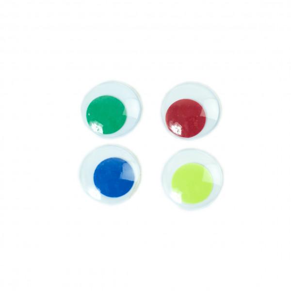 20 yeux couleurs 28mm