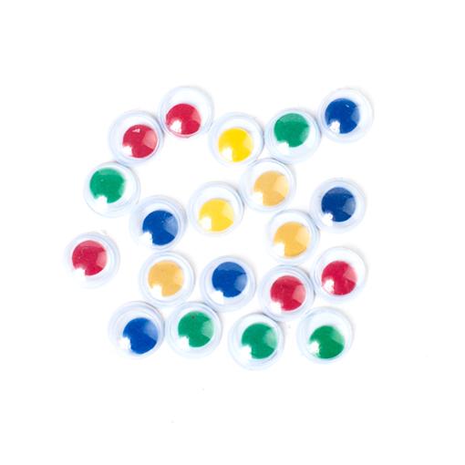 20 yeux couleurs 8mm