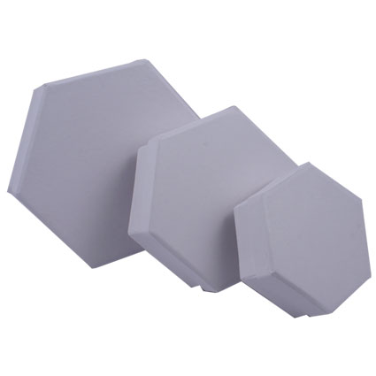 Boites héxagonales -lot de 3-
