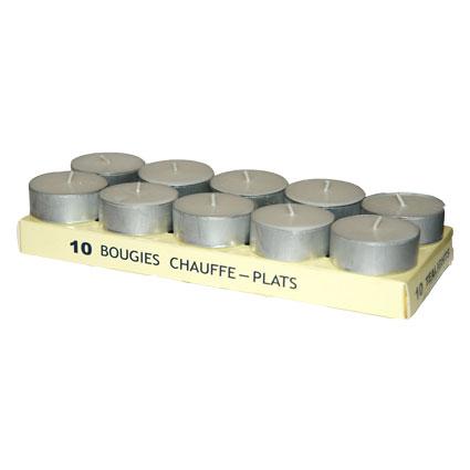 Bougies chauffe plat