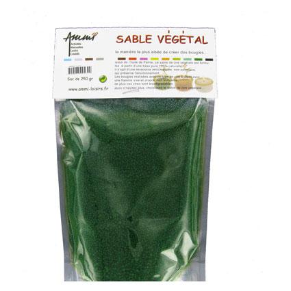 Sable végétal vert sapin