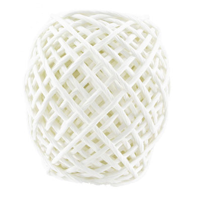 Corde papier blanche