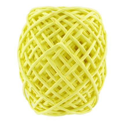 Corde papier jaune