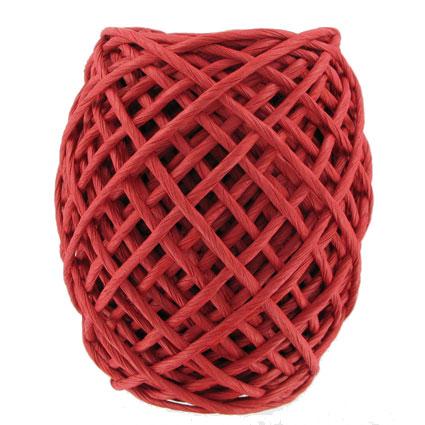 Corde papier rouge