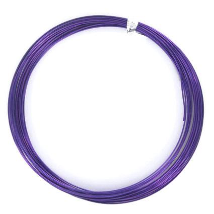 Fil alu rond violet