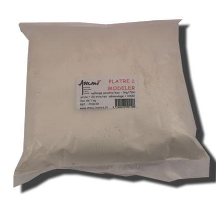 Plâtre à mouler -sac 1kg-
