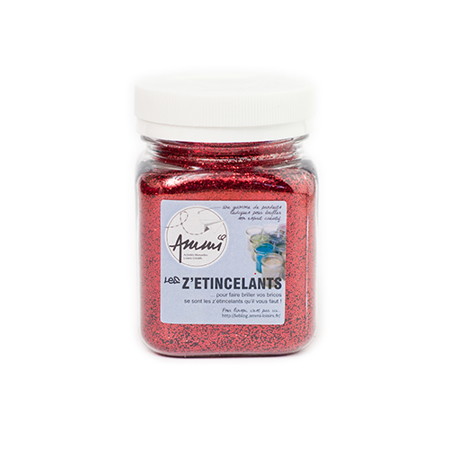 Paillettes rouge 115 grs