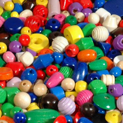 Perles bois